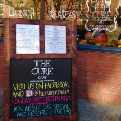 the cure store front