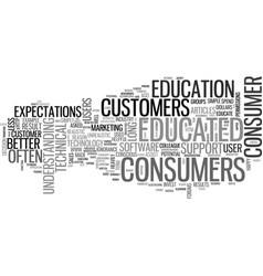 educated consumer