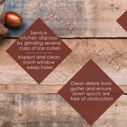 Home Care Tips Nov 2