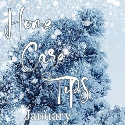 january home care tips1
